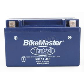 Bikemaster TruGel 12-Volt Battery - MG7A-BS