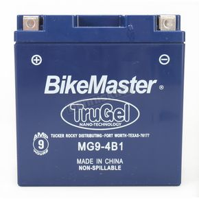 BikeMaster TruGel 12-Volt Battery - 78-0543