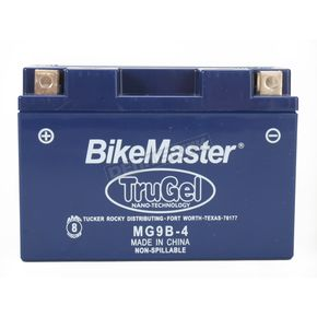 Bikemaster TruGel 12-Volt Battery - MG9B-4