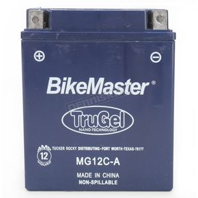 Bikemaster TruGel 12-Volt Battery - 78-0552