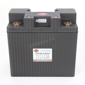 Shorai Xtreme-Rate 12-Volt LifePo4 LFX Lithium Battery - LFX21L6-BS12
