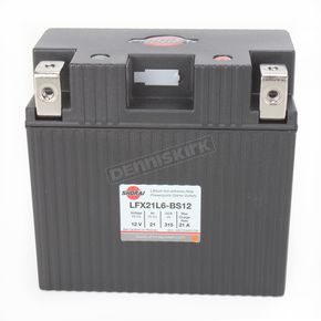 Shorai Xtreme-Rate 12-Volt LifePo4 LFX Lithium Battery - LFX36L3-BS12