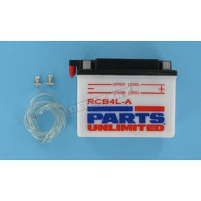 Parts Unlimited Heavy Duty 12-Volt Battery - RCB4LA