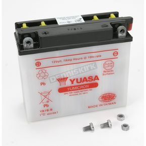Yuasa Yumicron High Powered 12-Volt Battery - YB7B-B