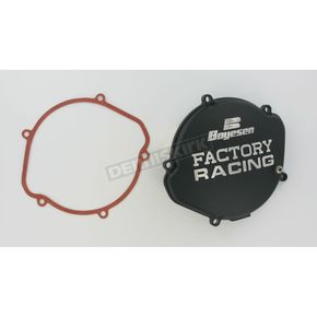 Factory Racing Black Clutch Cover - CC-01B