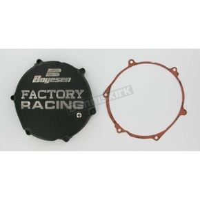 Factory Racing Black Clutch Cover - CC-12B