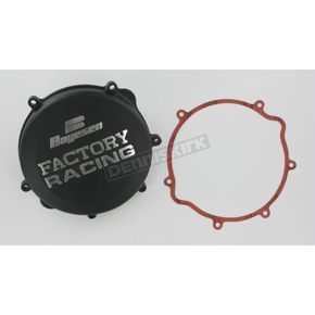 Factory Racing Black Clutch Cover - CC-22B