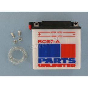 Parts Unlimited Heavy Duty 12-Volt Battery - RCB7A