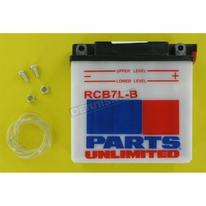 Parts Unlimited Heavy Duty 12-Volt Battery - RCB7LB