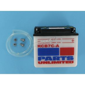 Parts Unlimited Heavy Duty 12-Volt Battery - RCB7CA