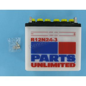 Parts Unlimited Standard 12-Volt Battery - R12N243