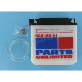 Parts Unlimited Heavy Duty 12-Volt Battery - RCB16BA1