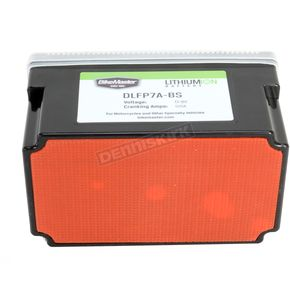 BikeMaster Lithium Ion Battery - DLFP-7A-BS