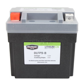 BikeMaster Lithium Ion Battery - DLFP-9-B