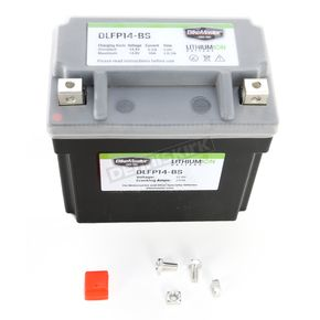 BikeMaster Lithium Ion Battery - DLFP-14-BS