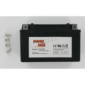Power Max Maintenance Free Battery - GTZ10S