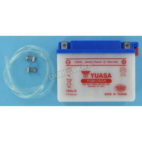 Yuasa Yumicron High Powered 12-Volt Battery - YB4L-B
