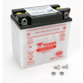Yuasa Yumicron High Powered 12-Volt Battery - YB7L-B
