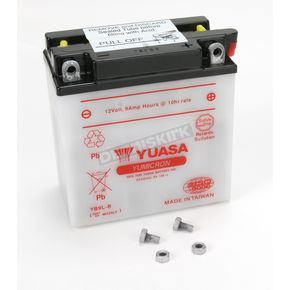 Yuasa Yumicron High Powered 12-Volt Battery - YB9L-B