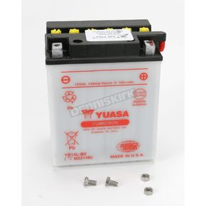 Yuasa Yumicron High Powered 12-Volt Battery - YB14L-B2