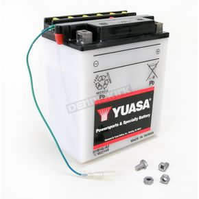 Yuasa Yumicron High Powered 12-Volt Battery w/ Sensor - SYB14L-A2