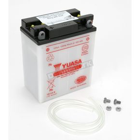 Yuasa Yumicron High Powered 12-Volt Battery - YB12A-B