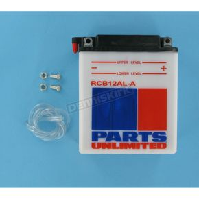 Parts Unlimited Heavy Duty 12-Volt Battery - RCB12ALA