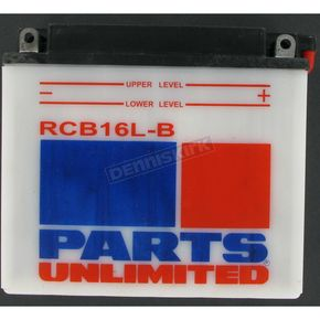 Parts Unlimited Heavy Duty 12-Volt Battery - RCB16LB