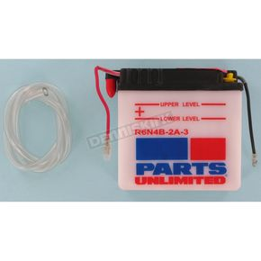 Parts Unlimited Standard 6-Volt Battery - R6N4B2A3