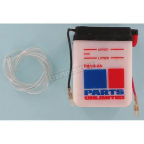 Parts Unlimited Standard 6-Volt Battery - R6N42A