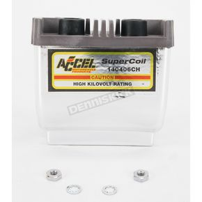 Accel Chrome HEI Super Coil Kit for Dual-Fire w/Electronic Ignition - 2.3 ohm - 140407CH