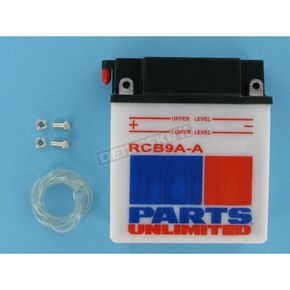 Parts Unlimited Heavy Duty 12-Volt Battery - RCB9AA