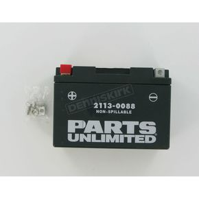 Parts Unlimited AGM Maintenance Free 12-Volt Battery - 21130088