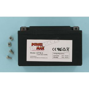 Power Max Maintenance Free Battery - GT7B4