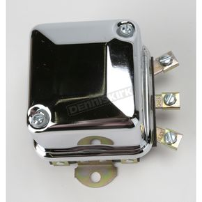 Accel Chrome OEM Type 6 Volt Voltage Regulator - 201106C
