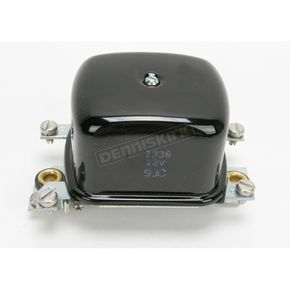 Accel OEM Type 12V Black Voltage Regulator - 201107