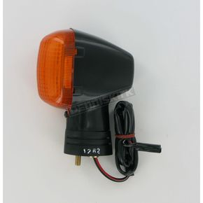 K & S Front Left Turn Signal Assembly W/Amber Lens - 25-1262