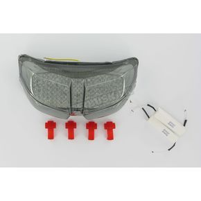 Clear Alternatives Integrated Turn Signal/LED Taillight Kit W/Smoke Lens - CTL0101ITS