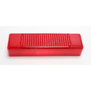 Parts Unlimited Red Taillight Lens - 01-104-18