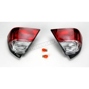 Show Chrome Saddlebag Lights - 52777