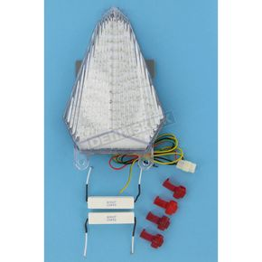 Clear Alternatives Sequential Integrated LED Taillight Kit - CTL0095Q