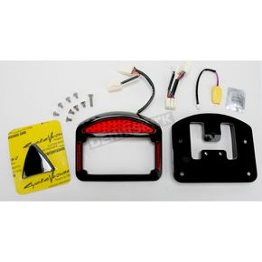 Cycle Visions Eliminator LED Taillight/License Plate Frame for FXD models - CV-4804B