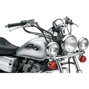 Cobra Steel Lightbar/Spotlight Kit - 04-0105