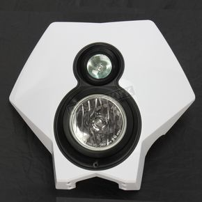 Trail Tech Halogen X2 Headlight - 36T1-70
