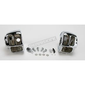 Drag Specialties Complete Switch Housing Kit w/o Radio or Cruise Switch Openings - 0616-0109