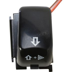 Drag Specialties Black Right Turn Signal Switch - 2106-0084
