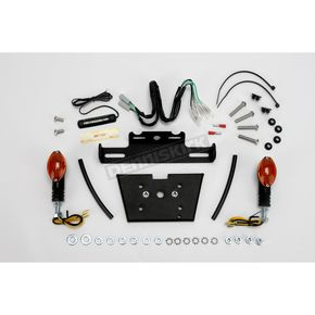 Targa Tail Kit with Black/Amber Turn Signals - 22-262L