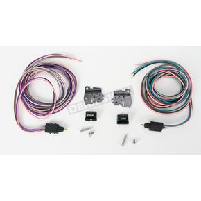 Drag Specialties 96-13 Black Radio Switch Kit - 0616-0125