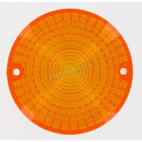 Replacement Amber Turn Signal Lens - 25-1100