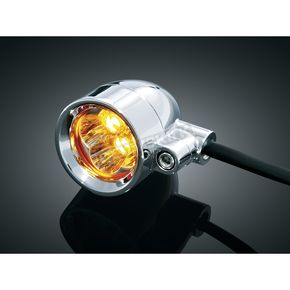 Kuryakyn Amber Dual Circuit Super Bright LED Silver Bullets - 1645